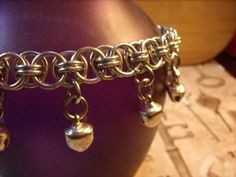 $18 chainmaille bell anklet