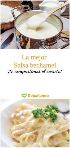 Salsa Bechamel, Chutney, Crepes, Macaroni And Cheese, Dips, Food And Drink, Nutrition, Cooking, Ethnic Recipes