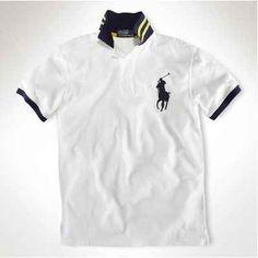 Polo Ralph Lauren men outlet-Fit Big Pony White T Shirt Outlet 688f49cd8a