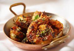 Grilled Shrimp Oreganata