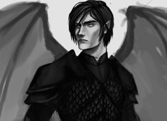 This armor will be the death of me. Azriel WIP.