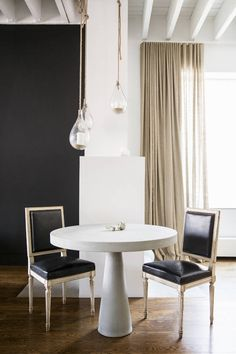 Rita Hazan's dining room by Nate Berkus and Jeremiah Brent on domino.com