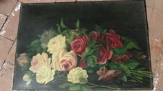 Oil Painting Roses...FABULOUS!