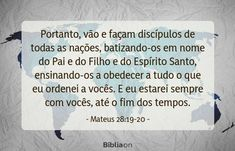 Jesus Cristo, Cards Against Humanity, Matthew 28, Being A Christian, Words, Frases, Word Of God, Lord, The Voice
