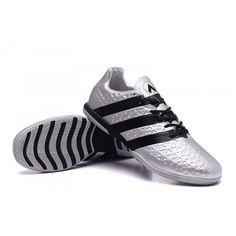 outlet store 3244b 001ff Prodaja Adidas ACE 16.3 IN IC Nogometne Tenisice Silver Black