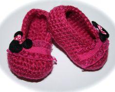 Crochet Baby shoes booties slippers ballet slippers by tweetotshop, $21.00