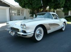 1961 Chevrolet Corvette with a 350 V-8 instead of the correct 283.  For sale on eBay as of 10/27/12, via Bring A Trailer.