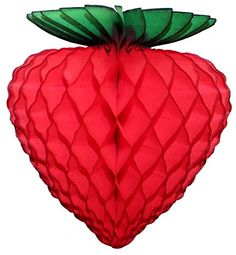 "6-pack 8"" Honeycomb Tissue Paper Strawberry Decoration De... https://www.amazon.com/dp/B00TWUAJVO/ref=cm_sw_r_pi_dp_x_VN8Byb054AH4G"