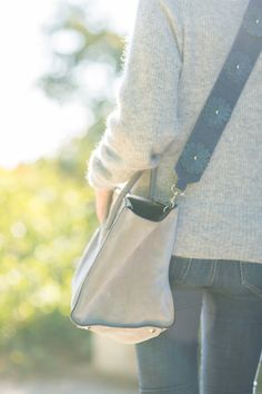Taschenanhänger - TRI-FLOWER // Schultergurt - ein Designerstück von tribymona-lisa bei DaWanda