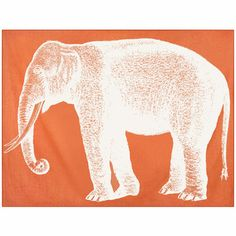 Elephant Throw 50x70 Alcazar, $335, now featured on Fab.