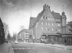 S-Bahnhof Botanischer Garte, Berlin in den 50ern