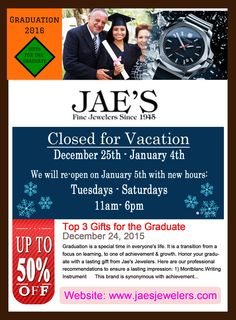 Want to shine in the crowd? Take a step ahead to mesmerize everyone around you and choose Jae's Jewelers for the jewelry that are ultimate in luxury and style. Jae's Jewelers is an online jewellery store, with a wide range of products for men and women at the best prices in Coral Gables. To browse our collection and buy the best one, visit jaesjewelers.com.