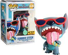 Disney: Lilo & Stitch - Summer Stitch [Scented] Exclusive [Sold Out! Funko Pop Dolls, Funko Pop Figures, Pop Vinyl Figures, Figurine Disney, Pop Figurine, Pop Disney, Disney Cars, Best Funko Pop, Funko Pop Display