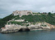 The El Morro castle, or fort, at the mouth of the bay that leads to Santiago de Cuba's harbor. Destination: Cuba | February 2017 | Text and photos by Rochelle A. Shenk | #Cuba #ElMorrocastle #Harbor