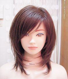 Pin on Hair styles Pin on Hair styles Haircuts For Medium Length Hair, Medium Hair Cuts, Medium Hair Styles, Curly Hair Styles, Brown Blonde Hair, Hair Color And Cut, Layered Hair, Green Hair, Hair Highlights