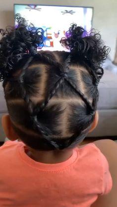 Black Baby Girl Hairstyles, Little Girls Natural Hairstyles, Cute Toddler Hairstyles, Kids Curly Hairstyles, Protective Hairstyles, Hairstyles For Toddlers, Black Toddler Girl Hairstyles, Toddler Curly Hair, African American Girl Hairstyles