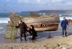 wagamamaya: Wooden Whaler, A Whale Sculpture Made of Derelict Fishing Boats