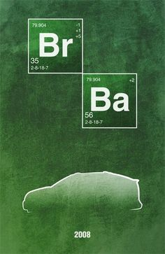 Movie Car Posters (56 pics) 6: Breaking Bad