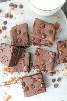 Fudgy Black Bean Brownies – Gluten Free & Vegan