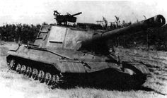 Object 268 - development of this tank destroyer was started in the summer of 1952 at the Kirov Plant, Leningrad, under the supervision of Joseph Kotin. The vehicle was developed on the basis of the T-10 heavy tank. A prototype was manufactured in 1956. The vehicle passed trials, but never saw mass production. One of the last soviet attempts to create classic tank destroyer.