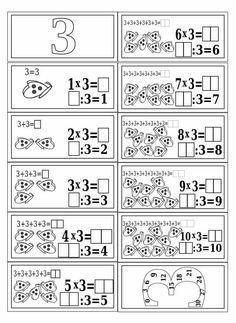Mnozenje i dijeljenje do 100 Mental Maths Worksheets, Math Activities, Teaching Multiplication, Teaching Math, 1st Grade Math, Math Class, Math Sheets, Aperol, Daily Math