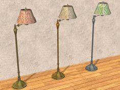 TheNinthWaveSims: The Sims 2 - TS3 UNI Vintage Floor Lamp For The Sims 2 Desk Lamp, Table Lamp, University Life, Pet Beds, Sims 2, Plant Decor, Body Shapes, Floor Lamp, Lights
