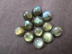 Natural Labradorite Round Cabochon 12X12 mm 1 pcs by 8gemsinc, $5.99