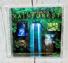 The Enchanted Rainforest by Ambient Mood Music CD Music Songs Relaxing Brand New Cd Music, Music Songs, Cds For Sale, Enchanted, Mood, Ebay