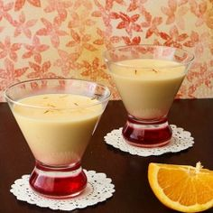 Orange Basundi Pudding With Richness Of Condensed Milk And Sweetness Oranges Indian Dessert