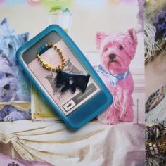 Juicy couture iPhone 4/4s case Great condition iPhone 4/4s case in blue, does not come with insert Juicy Couture Accessories Phone Cases