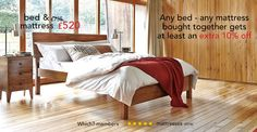 Go for bold and get lots of under bed storage space too with our beautiful Siesta bed Danish Bedroom, Wooden Bed Frames, Wooden Beds, Big Beds, Loft Room, Under Bed Storage, Awesome Bedrooms, Home Bedroom, Master Bedroom