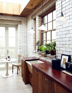 reclaimed materials in an East London home