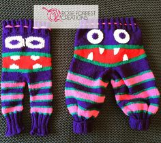 Knit Monster Leggings vs Knit Monster Trousers and Appliqué vs Embroidery   CREATED BY @roseforrestcreations #roseforrestcreations #knit #knitting #knitpants #knittrousers #monster #monsterpants #monstertrousers #knitmonsterpants #knitmonstertrousers #duplicatestitch #duplicatestitching #embroidery #applique #grumpypants #grumpybum #grr #monsterinc