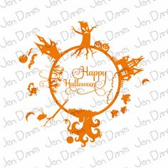 Halloween files, halloween scene, halloween svg, haunted files, scary svg,files SVG files for Cricut Silhouette svg cutting files, - pinned by pin4etsy.com