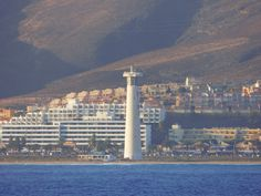 Desde las Islas Canarias  ..Fotografias  : Faro en la Playa de Jandia .....Fuerteventura