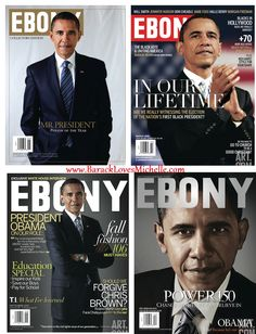 president obama ebony covers collectible