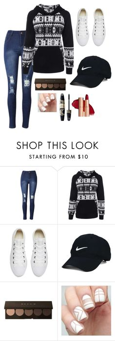 """Me#162"" by shoppingismycardio99 ❤ liked on Polyvore featuring Converse, Nike Golf and Max Factor"