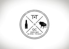 Logo, monoline, tag, beer, bull. Design par JEANPAQUETTE.CA DESIGNER GRAPHIQUE S.-O. MONTRÉAL via Behance One For The Money, Logos, Behance, Design, Home Decor, Chart, Behavior, Homemade Home Decor