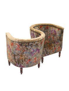 Antique Pink Conversation Chair. | Pink | Pinterest | Auction Bid, Bench  And Decorating