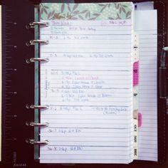 Week 36 in my Personal Malden #filofax #planner #malden