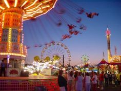 Evergreen State Fair in Monroe, WA (August)