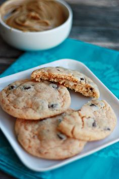 Peanut Butter Stuffed Orange Chocolate Chip Cookies by Not Your Momma's Cookie