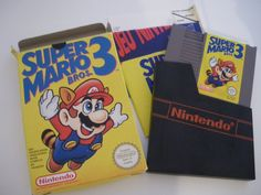 Super Mario 3....I still have them all! Pack rat status! Lol