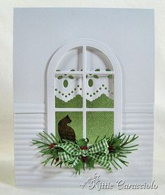 KC Poppy Stamps Madison Arched 1 center  Another fabulous card from Kittie!