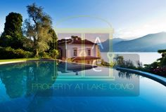 Waterfront italia villa with stunning lake view. available for rent