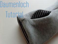 Daumenloch álà Bench selber nähen