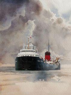 James Norris -watercolour