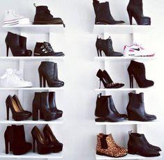 Para guardar sapatos com carinho ♥