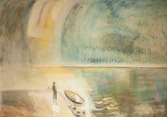 József Egry (1883-1951) Badacsony Painting, Sailboats, Image, Art, Sailing Yachts, Art Background, Painting Art, Kunst, Paintings