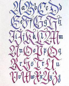 🔥So hard to start, so long to make, so satisfying to finish 😊😊 Calligraphy Fonts Alphabet, Tattoo Fonts Alphabet, Hand Lettering Alphabet, Script Lettering, Lettering Design, Islamic Calligraphy, Gothic Lettering, Chicano Lettering, Graffiti Lettering